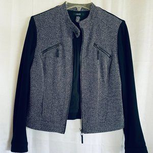 Calvin Kein Black and White Jacket